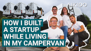 How I built a startup while living in my campervan