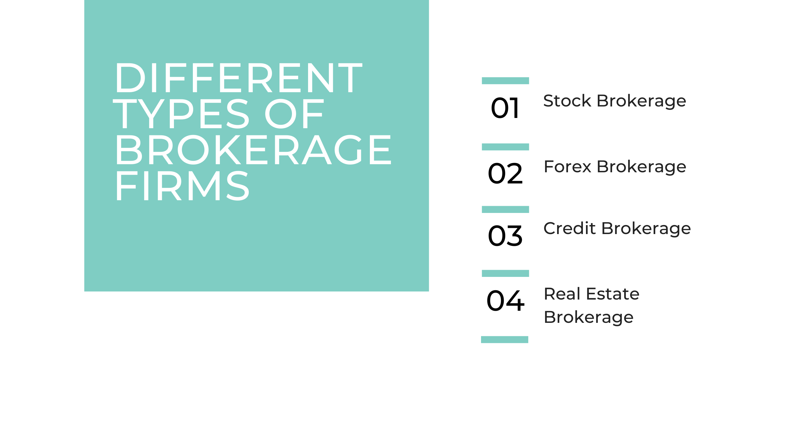 Different Blog Image Types of Brokerage Firms
